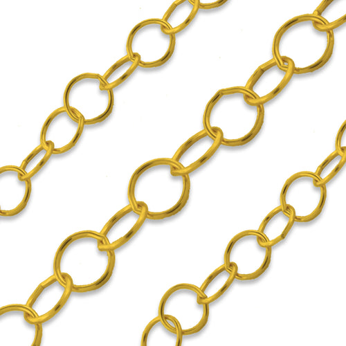 Gold Filled Cable Chain 3.5mm (sold by the foot)