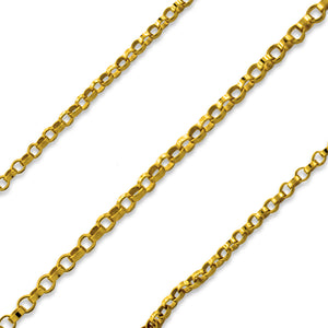 Gold Filled Small Rolo Chain 1.1mm (sold by the foot)