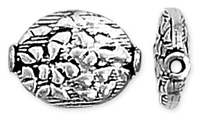 Sterling Silver Bali Style Pattern Bead 16mm