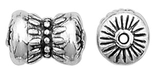 Sterling Silver Fancy Knot Bead