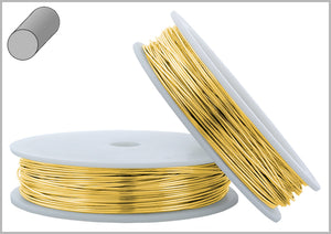 Gold Filled Wire Round Hard 20GA