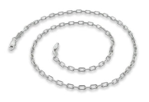 "Sterling Silver 8"" Cable Chain Bracelet - 2.8MM"