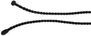 3MM Twisted Black Silk Cord 17.5