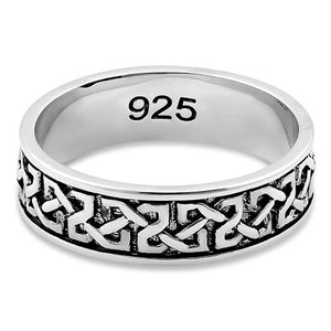 Sterling Silver Celtic Band Ring
