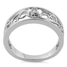Load image into Gallery viewer, Sterling Silver Vines Flower Ring