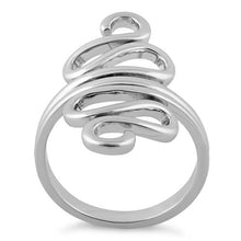 Load image into Gallery viewer, Sterling Silver Wiggly Ring