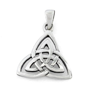 Sterling Silver Plain Celtic Light Pendant