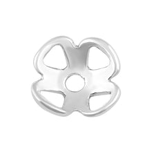 Load image into Gallery viewer, Sterling Silver Bead Flower Cap - PACK OF 10