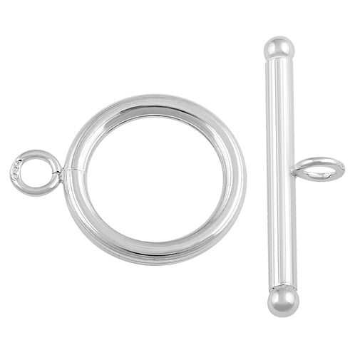Sterling Silver Toggle Clasp 14mm
