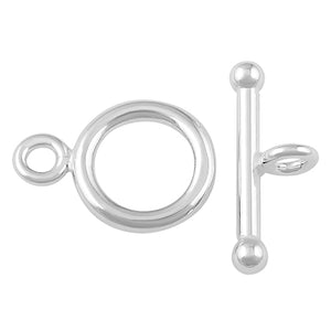 Sterling Silver Toggle Clasp 11mm
