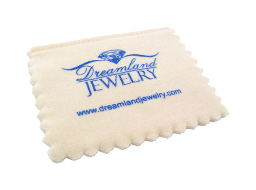 "Professional Grade Silver Jewelry Cleaning & Polishing Cloth 4"" x 6"""