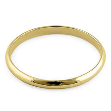 Load image into Gallery viewer, Solid 14K Yellow Gold 2mm Wedding Band