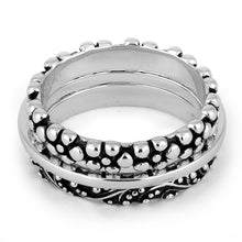 Load image into Gallery viewer, Sterling Silver 3 Set Bali Design Ring