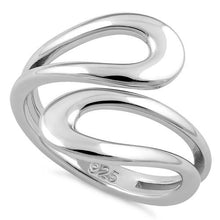 Load image into Gallery viewer, Sterling Silver Abstract RIng