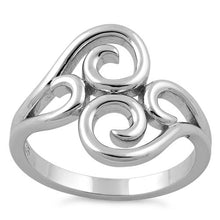 Load image into Gallery viewer, Sterling Silver Abstract Vines Ring