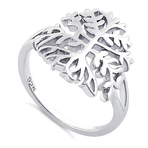 Sterling Silver Ancient Tree of Life Ring