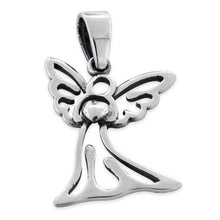 Load image into Gallery viewer, Sterling Silver Angel Heart Pendant