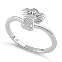 Load image into Gallery viewer, Sterling Silver Angel Ring