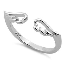 Load image into Gallery viewer, Sterling Silver Angel Wings Ring