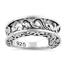 Load image into Gallery viewer, Sterling Silver Antique Wavy Ring