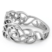 Load image into Gallery viewer, Sterling Silver Autumn Leaves in the Wind Ring