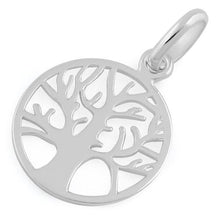 Load image into Gallery viewer, Sterling Silver Autumn Tree of Life Pendant