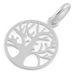 Sterling Silver Autumn Tree of Life Pendant