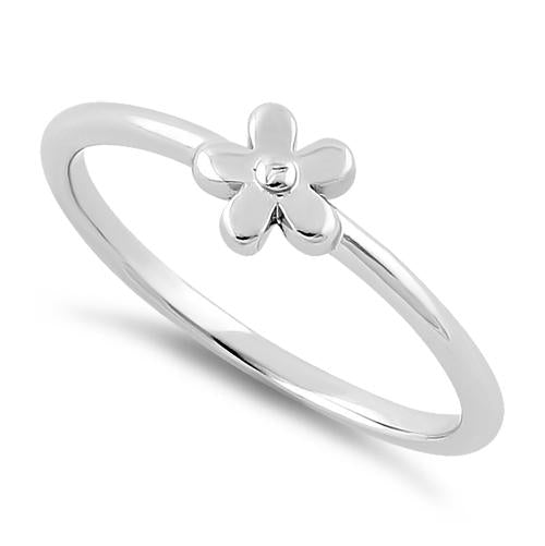 Sterling Silver Baby Flower Ring