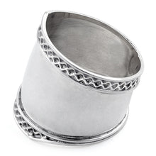 Load image into Gallery viewer, Sterling Silver Bali Design Ring