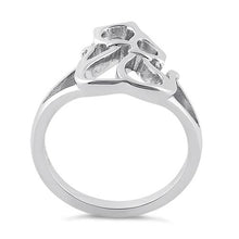 Load image into Gallery viewer, Sterling Silver Cat Couple Ring