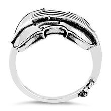 Load image into Gallery viewer, Sterling Silver Violin Ring