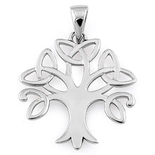 Load image into Gallery viewer, Sterling Silver Celtic Tree of Life Pendant