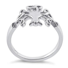 Load image into Gallery viewer, Sterling Silver Celtic Tree of Life Ring