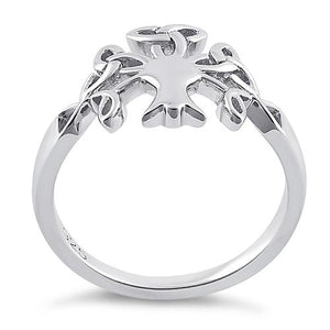 Sterling Silver Celtic Tree of Life Ring