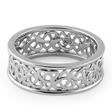 Load image into Gallery viewer, Sterling Silver Celtic Triquetra Eternity Band