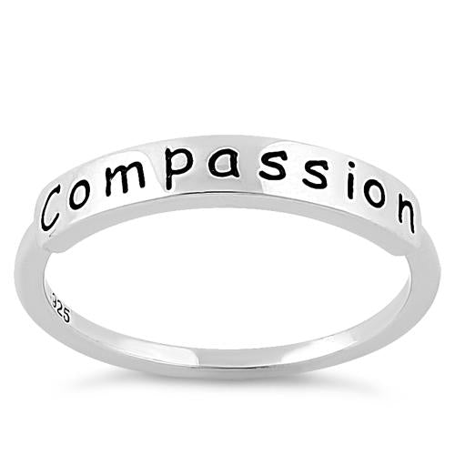 "Sterling Silver ""Compassion"" Ring"