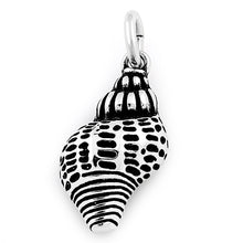 Load image into Gallery viewer, Sterling Silver Conch Shell Charm Pendant