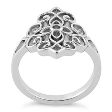 Load image into Gallery viewer, Sterling Silver Cross Vines Ring