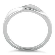 Load image into Gallery viewer, Sterling Silver Curvey Top Ring