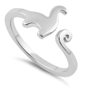 Sterling Silver Dinosaur Ring