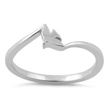 Load image into Gallery viewer, Sterling Silver Dove Ring