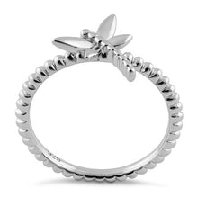 Load image into Gallery viewer, Sterling Silver Dragonfly Ring