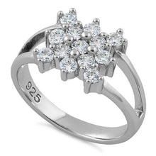 Load image into Gallery viewer, Sterling Silver Elegant CZ Ring