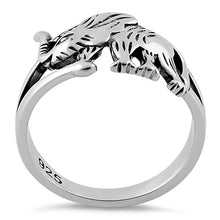 Load image into Gallery viewer, Sterling Silver Elephant Ring