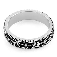 Load image into Gallery viewer, Sterling Silver Eternity Flower Band Ring