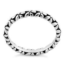 Load image into Gallery viewer, Sterling Silver Eternity Flower Ring