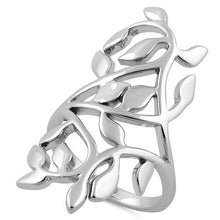 Load image into Gallery viewer, Sterling Silver Extravagant Leaves Ring