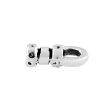 Load image into Gallery viewer, Sterling Silver Fancy End Cap 1mm - PACK OF 10