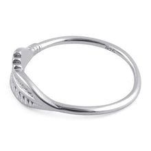 Load image into Gallery viewer, Sterling Silver Feather Ring