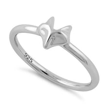 Load image into Gallery viewer, Sterling Silver Fox Ring